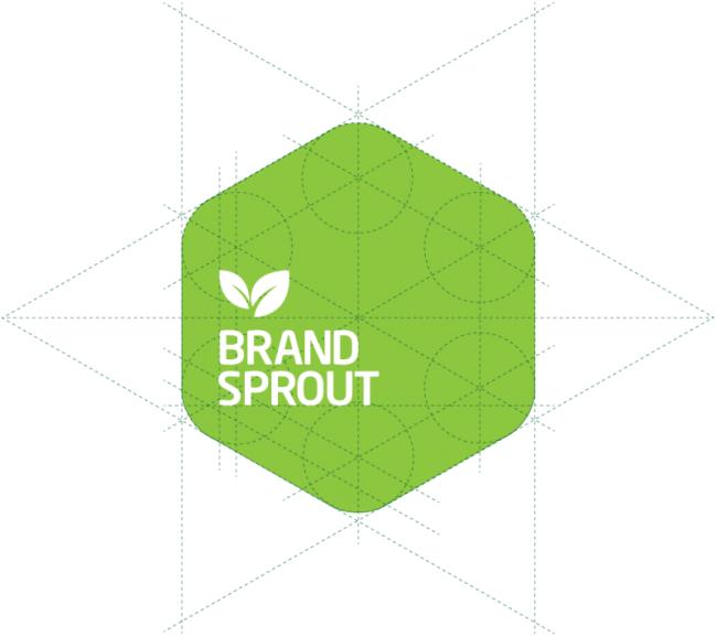 奇妙的圆形组合企业logo设计过程