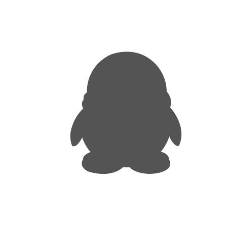 灰色qq企鹅头像